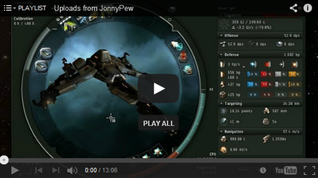 JonnyPew: Ninja Hacking Deep Null Sec Videos | EVE PRO Guides